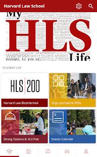 Harvard Law School, DoS - náhled