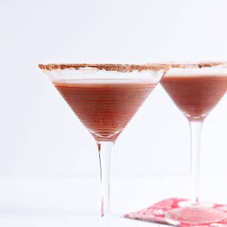 Vanilla Hot Chocolate Martini.