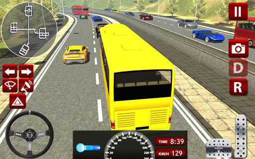 coach bus driver simulator 3d screenshot 1