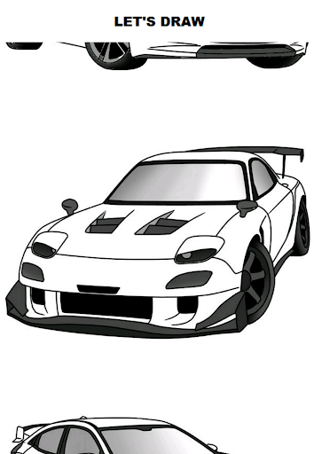 Draw Cars: Sport 10.0.0 screenshots 1