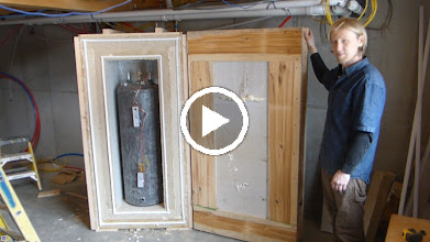Video: The has a li'l caster under the outside corner.  Only two levels of weatherstripping.