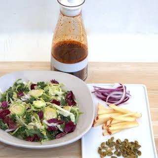 Spicy Salad Dressing - Korean Gochujang Vinaigrette.