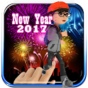 Crackers Touch ( New Year Run) icon