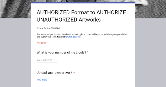AUTHORIZED Format to AUTHORIZE UNAUTHORIZED Artworks