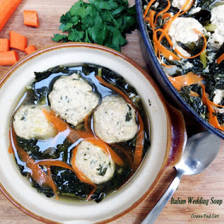 Grain Free Italian Wedding Soup with Meatballs Recipe