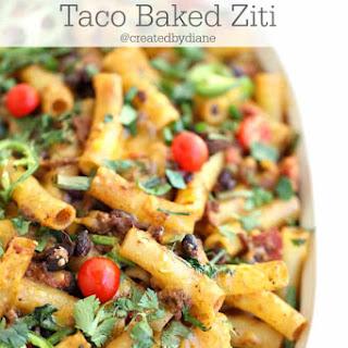 Taco Baked Ziti.