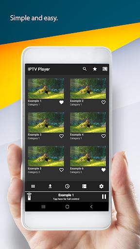 IPTV Player & Cast 2.2 screenshots 2
