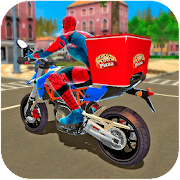 Game Super Spider Hero Pizza Delivery APK for Windows Phone