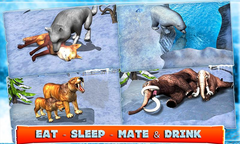Beasts of Ice Age- screenshot