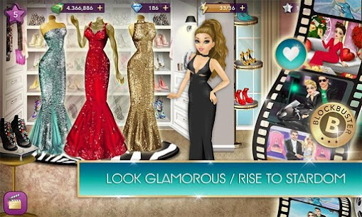 Hollywood Story Mod 9.0 Apk [Unlimited Money/Diamonds] 2