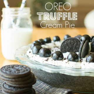 Oreo Truffle Cream Pie