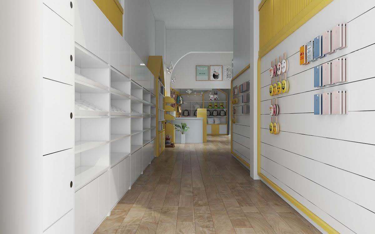thiết kế cửa hàng lưu niệm tại lò đúc 1