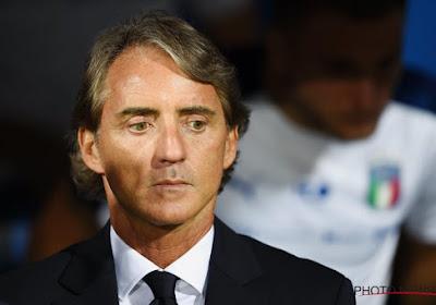 """Roberto Mancini heureux : """"On n'est pas très loin des meilleures équipes européennes"""""""