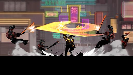 Cyber Fighters: Shadow Legends in Cyberpunk City apkmr screenshots 9