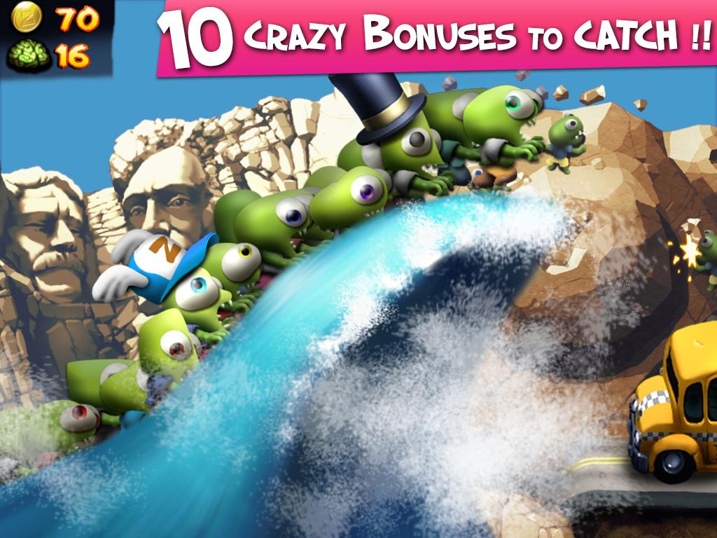 Screenshots of Zombie Tsunami for Android