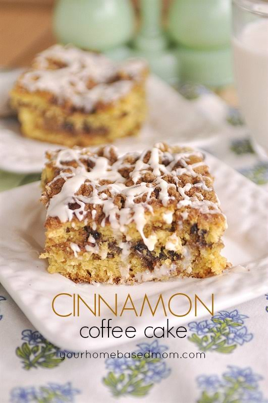 Easy Cinnamon Coffee Cake With Yellow Cake Mix