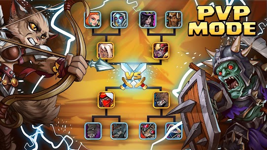 Tiny Gladiators 2: Heroes Duels – RPG Battle Arena Apk Download For Android and Iphone 3