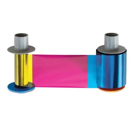 Färgband Fargo HDP5000 - YMCFK - 500 utskrifter
