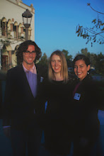 Photo: Rice Pollution Solution Team won the $20,000 Award, featured here with Nadia Auch