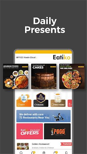 Eatiko - Screenshots von Food Delivery & Restaurant Finder 3