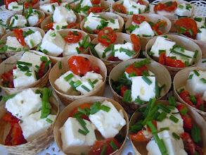 Photo: Barquette de fêta & tomates confites
