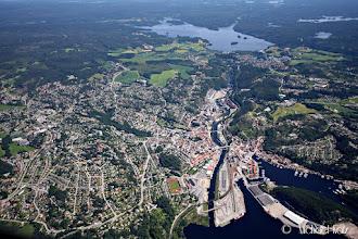 Photo: Halden, rett ved grensen til Sverige og fixet REGMA.