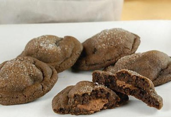 Caramel Filled Chocolate Cookies Recipe