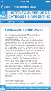 ISCA Noticias- screenshot thumbnail