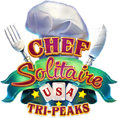 Chef Solitaire: USA TriPeaks