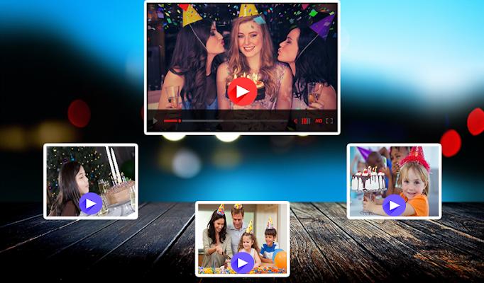 Happy Birthday Video Maker  - screenshot