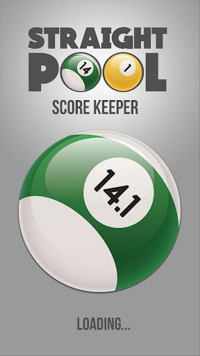 Straight Pool Score Keeper