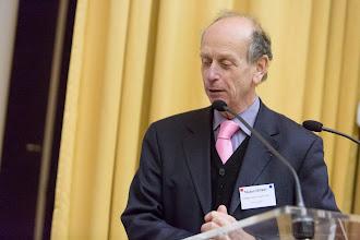 Photo: Michel Spiro, président sortant du conseil du CERN- Photo Olivier Ezratty