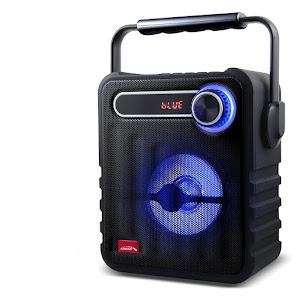 Boxa portabila Audiocore AC810 PMPO, FM USB, 1200mAh 75W, Negru