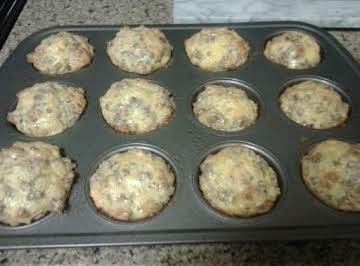 Cheesy Sausage and Egg Muffins
