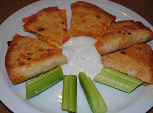 Buffalo Chicken Quesadillas Recipe