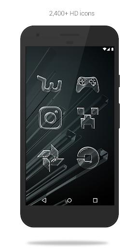 Glass Pack - Transparent Theme (Free Version) screenshots 2