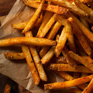 Spicy Oven-Baked French Fries.