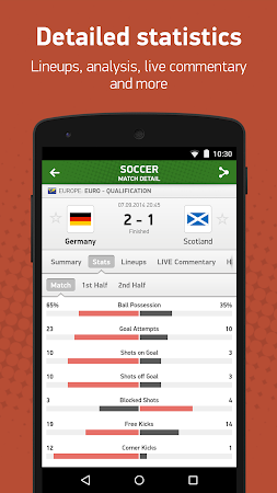FlashScore 2.2.0 screenshot 192474