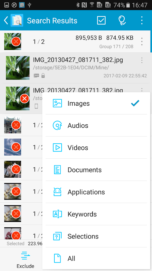 Search Duplicate File (SDF)- screenshot
