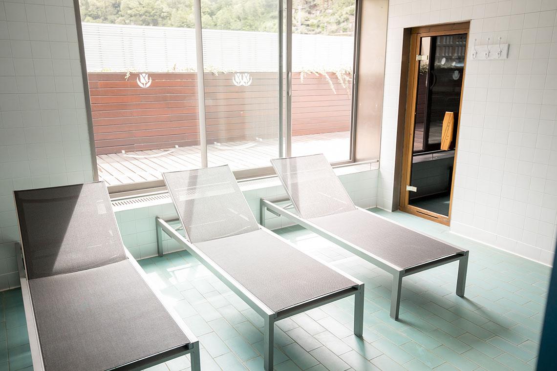 Alojamiento con spa