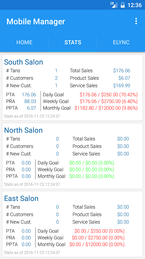 SunLync Mobile Manager- screenshot