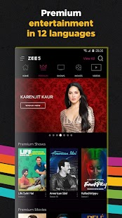 ZEE5 - Movies, TV Shows, Live TV & Originals v11 2 147 [Mod] [Latest