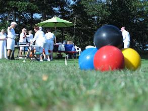 Photo: SCC Tournament Croquet gathering