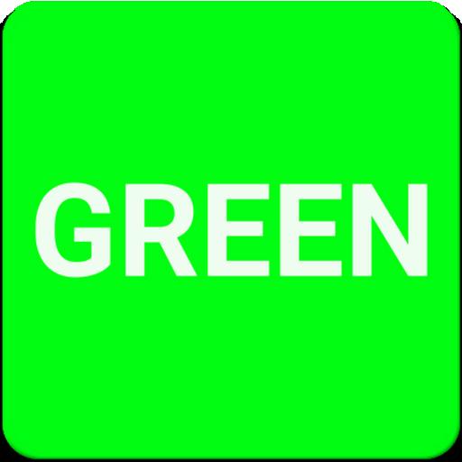 Green Screen (LongClick=Blue)
