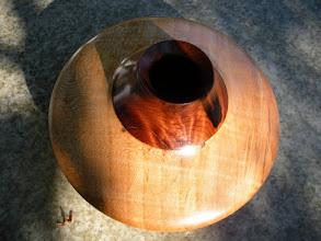 "Photo: Bigleaf maple and Redwood Burl 6"" x 5"" $150"