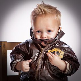Captain Tagen by Scott Myler - Babies & Children Child Portraits