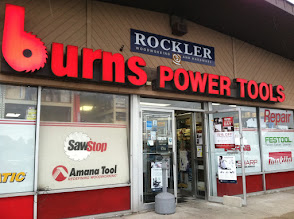 Photo: Burns Power Tools in Fall River, MA proudly displaying their BBB Accreditation.