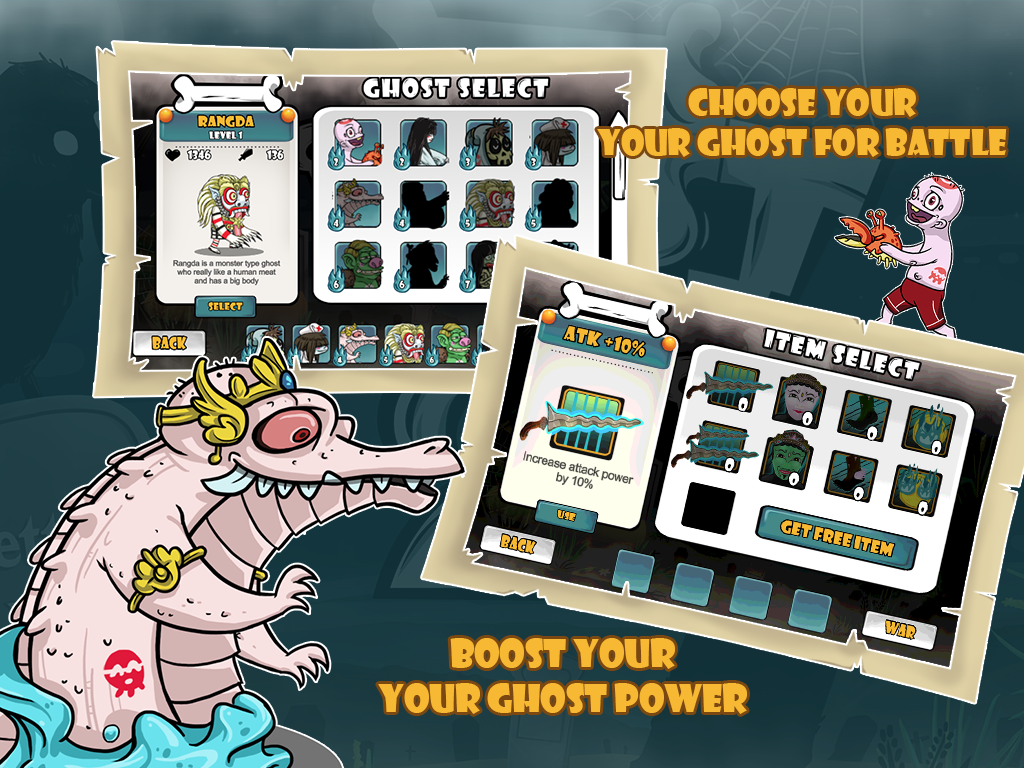 Ghost Battle 2- screenshot