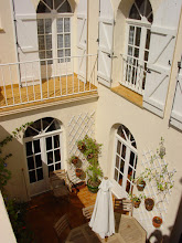 Photo: Interior Courtyard from one of its Two Balconies