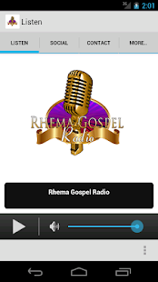 Rhema Gospel Radio- screenshot thumbnail